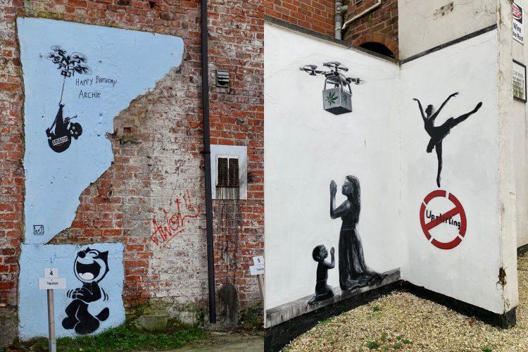 Banksy Hull England
