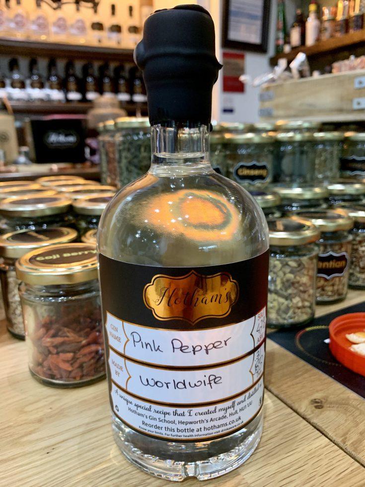 Maak je eigen gin tijdens een stedentrip Hull
