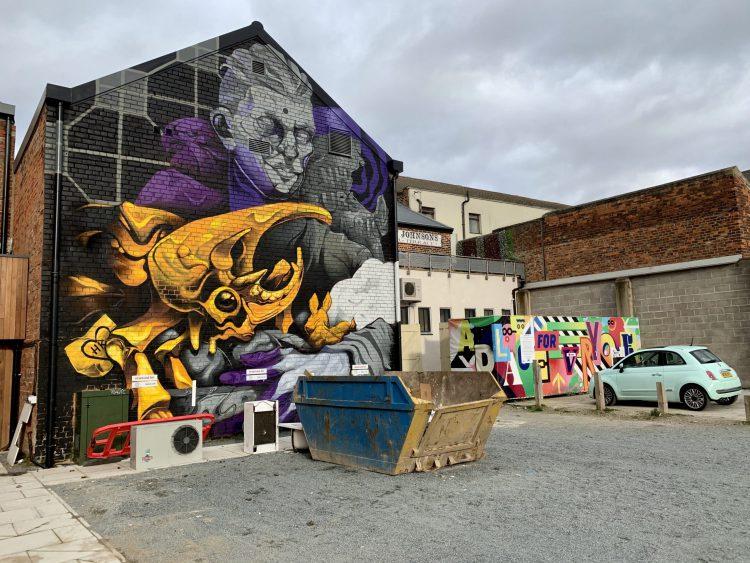 Street art in Hull