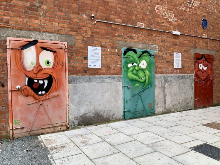 street art Fruit market Hull