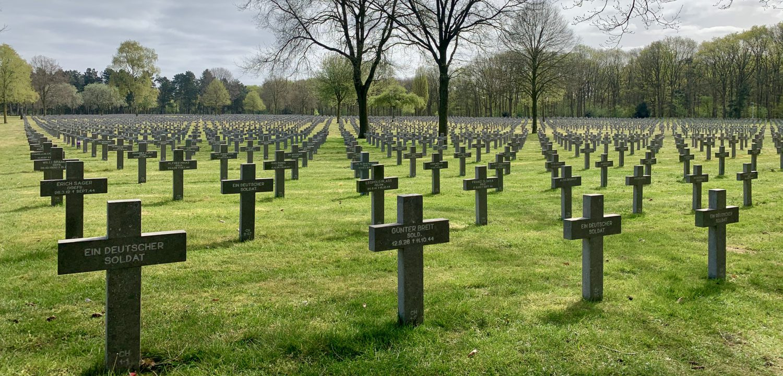 Duitse oorlogsbegraafplaats Ysselsteyn Limburg