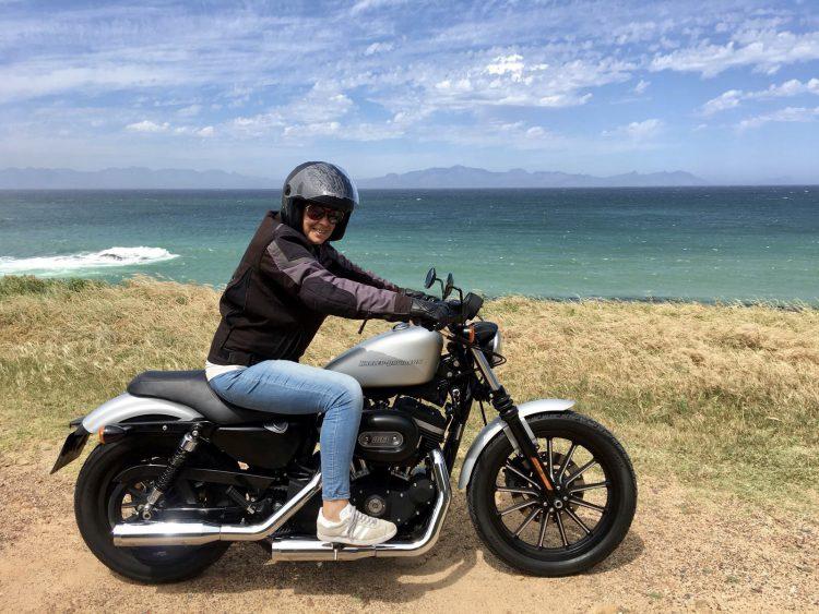 Harley Davidson motor huren Kaapstad Zuid-Afrika