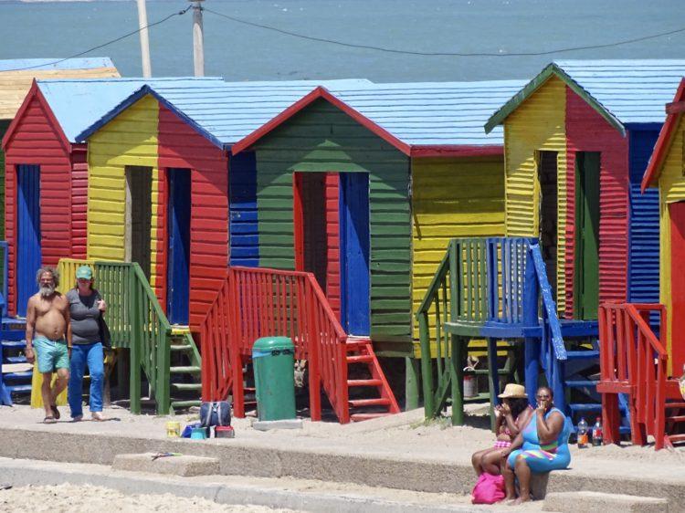 Strandhuisjes Muizenberg, Kaapstad